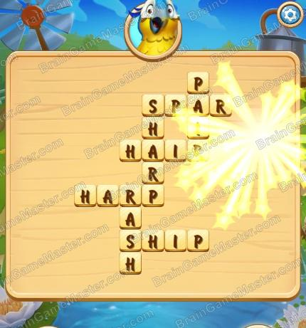 The Answer To Level 161 162 163 164 165 166 167 168 169 And 170 Is Save The Hay Word Adventure Brain Game Master
