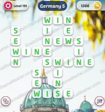 The Answer To Level 191 192 193 194 195 196 197 198 199 And 200 Is Word Explore Brain Game Master