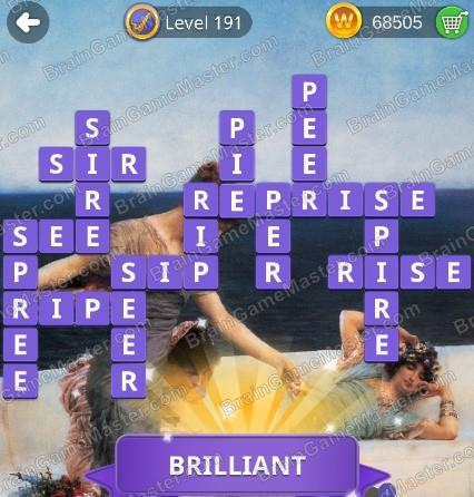 The Answer To Level 191 192 193 194 195 196 197 198 199 And 200 Is Wordmonger Collectible Word Game Brain Game Master
