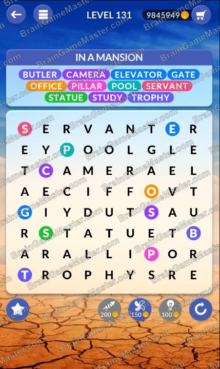 Wordpscape Search Answers At Levels 131 132 133 134 135 136 137 138 139 140 Brain Game Master