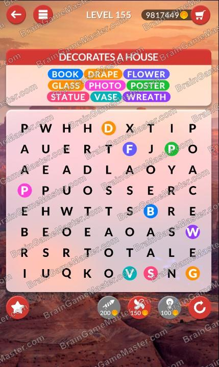 Wordpscape Search Answers At Levels 151 152 153 154 155 156 157 158 159 160 Brain Game Master