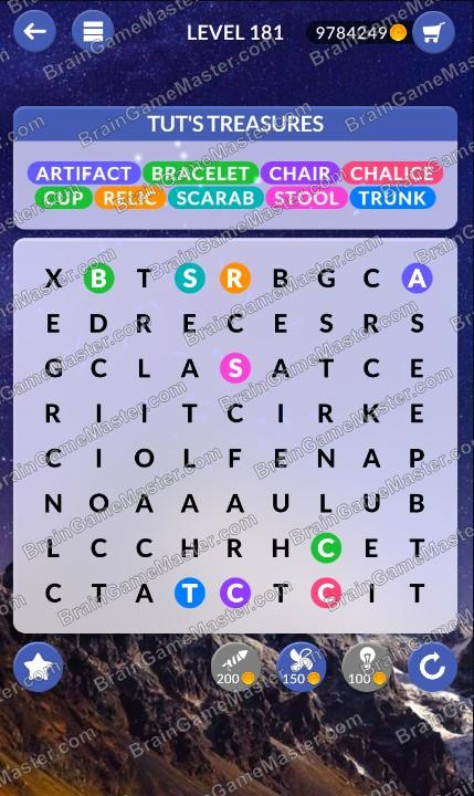 Wordpscape Search Answers At Levels 181 182 183 184 185 186 187 188 189 190 Brain Game Master