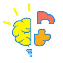 The answer to level 1, 2, 3, 4 and 5 is game Broken Brain: Puzzle, Solve and Get Smarter